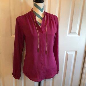 Michael kors pink blouse